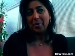 Busty milf fucks her colleague at the free