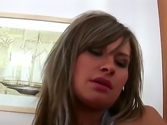 The amazing gorgeous pornstar Martina Lanik with a big natural boobies...