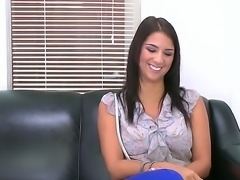 Smoking hot brunette teen angel Evi