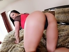 Smoking hot black haired mistress with sweet butt Kendra Lust making Kevin...