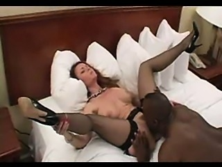 Sweet mature amateur milf wife interracial cuckold loving