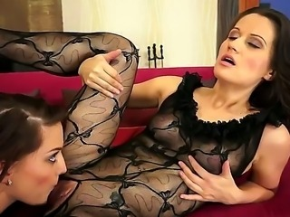 The recipe of an amazing climax is simple. Take a bit of gentle pussy munching, some soft fingering and a big amount of hard, pussy-stretching fisting and the success is guaranteed