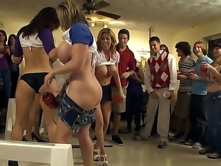 Alexis Fawx, Anastasia Morna, Jayden Jaymes and Sara Jay at the dream college party