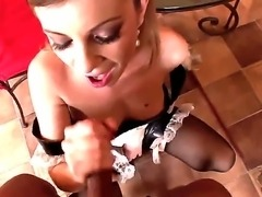 French vixen Dona Bell is ready to take her chances on this vicious dick by...