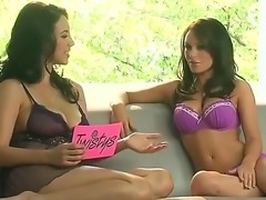 Two hot brunette babes Gemma Massey