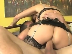 Alexandra Silk and Paul Carrigan are having a nasty hardcore deep fucking...