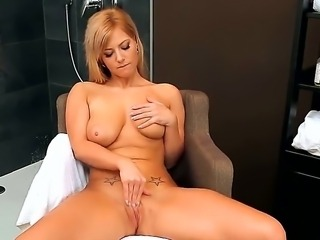 This blonde hottie would blow up your imagination and seduce you to jerk off so nicely. She is the gal you were searching for! Watch her staying nude and masturbating.