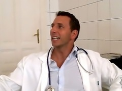 Kathia Nobili and Nick Lang love to don the roles of innocent patient and...