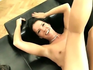 Jane M is a new to the porn biz. But Rocco is here to show her what to expect if you want to be the best. He begins through her lovely pussy workout.