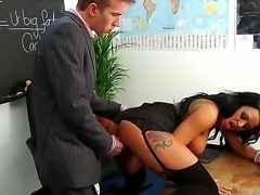 Danny D is young teacher. This is his first day at the new workplace. Kerry...