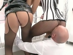 Sexy models with big curves, Milla Yul and Wild Cat, prefer to be fingered...
