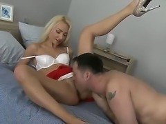 Blonde and hot Victoria Puppy has