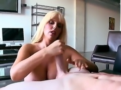 Karen Fisher is unsatisfied blonde milf with incredible, imposing boobs! This...