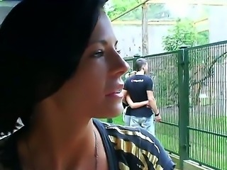 Raven haired beauties Aletta Ocean and Liz are taking a relaxing day off outdoors
