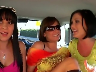 Alexa Jordan, Claire Dames and Tory Lane are three crazy sex freaks! When...