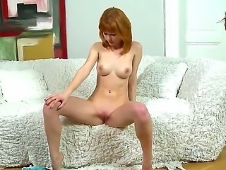 You know what they say about red-heads right Supposedly its a proven fact that they are 25 hornier then all other girls. One of our newest additions to DDF, Mia Sollis.