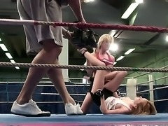 Nikita along with Tanya Tate are fighting in order to win the better hunk