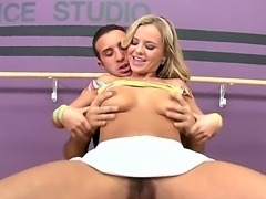 Bree Olson is using her magnetic body and lusty dance moves at the pole to...