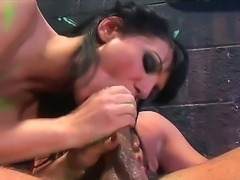 Hardcore group fuck with a nasty and passionate brunette babe named Victoria Sin