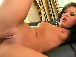 Glamour brunette girl Madison Parker is fond of being banged and today she is...
