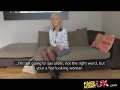 FakeAgentUK Mature MILF wants young stud cock on demand free