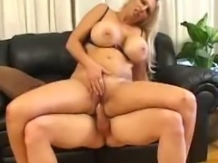 Blonde fuck and facial