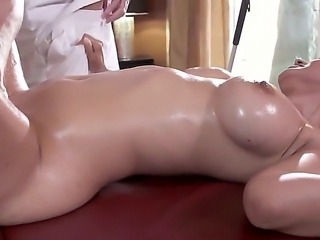 Busty beauty Isis Love gets nailed hard and deep by hunk Johnny Sins