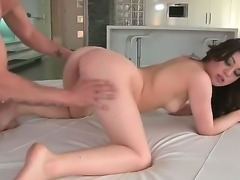 Tiffany Doll was getting deep anal drilling from her lusty lover before she was caught cheating