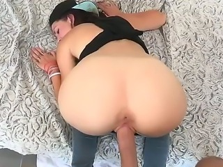 Johnny Sins loves penetrating hot babe Kiera Winters deep down her tight ass hole