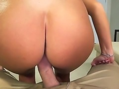 Beautiful Whitney Westgate is sucking studs giant male rod relentlessly...