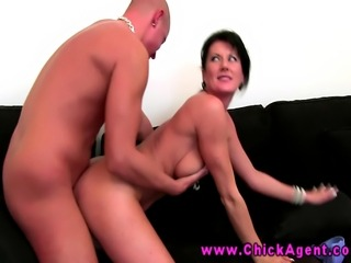 Euro lady auditions dude for porn movie in this HD video