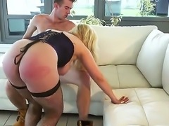 Amazing hardcore fuck session with Ashley Downs and horny guy Danny D