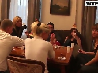 Welcome to the college sex party with Alexa, Anett, Lusya, Nastia, Rona and...