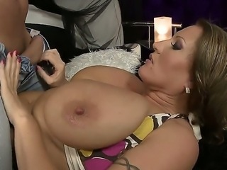 David Perry and Laura Orsoia are having intense pleasure fucking hard and...
