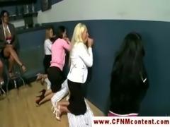 CFNM ladies enjoying gloryhole time free