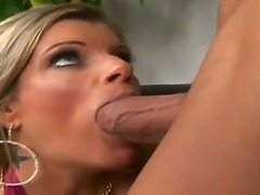 Hunk Billy Glide loves having hot Kristal Summers sucking and fucking his...
