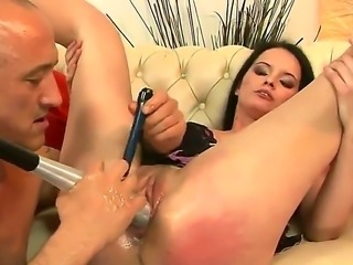 Sheala Brill is brave enough to get herself in the mercy of hardened porn veteran Bruno SX