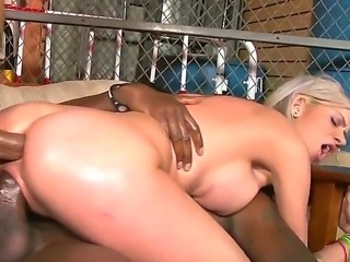 Beautiful white woman getting head on the couching