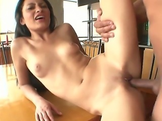 Young sex goddess July gets her pussy licked and fucked by hot Carlos A at...
