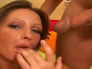 Busty blonde gets filmed when fucking huge cock in dirty hardcore action