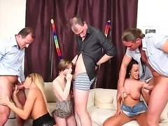 Hardcore and really crazy group fuck with Charlotte, Linet Slag and Sunshine