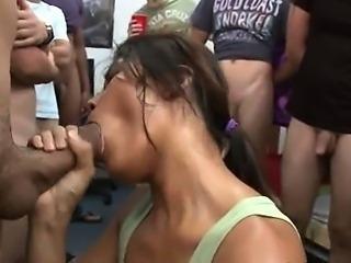 Teen girls playing eating dick marathon