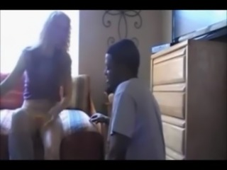 Gorgeous wife hooks up with black guy on real homemade free