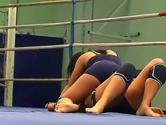 Nude female wrestling scene with Honey Demon and Melanie Memphis would make...