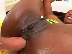 Mike Adriano stuffs her anus with his hard and huge cock. Persia B is one...