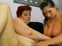Old love between a horny slut named Daisey Lee and her girlfriend Hetty