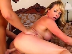 Kris Slater gets Shayla Laveauxs pussy and fucks it with a pleasure