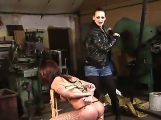 Hardcore BDSM action with sexy girls named Mandy Bright and Maria Bellucci