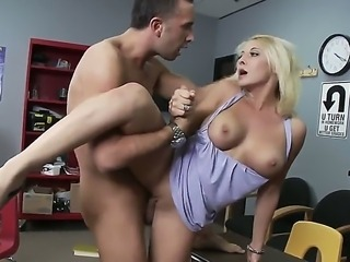 Now you are able to watch nice porn action with Keiran Lee and Madison Ivy. The amazing chick with cool body stands in doggie and in other positions getting drilled so hard.