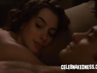 Celeb anne hathaway big bare breasts exposed and having sex in love and other drugs